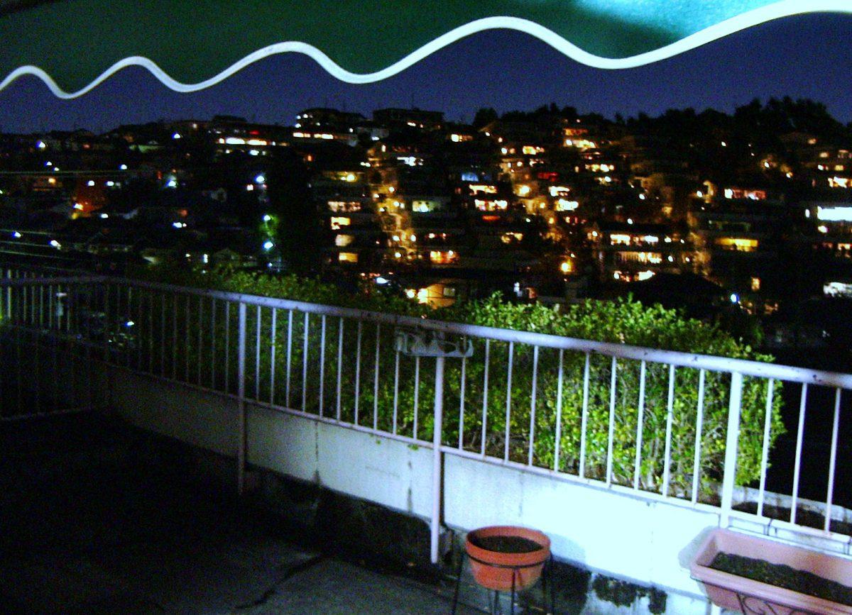 グリーンハイツ百合ヶ丘・夜景
