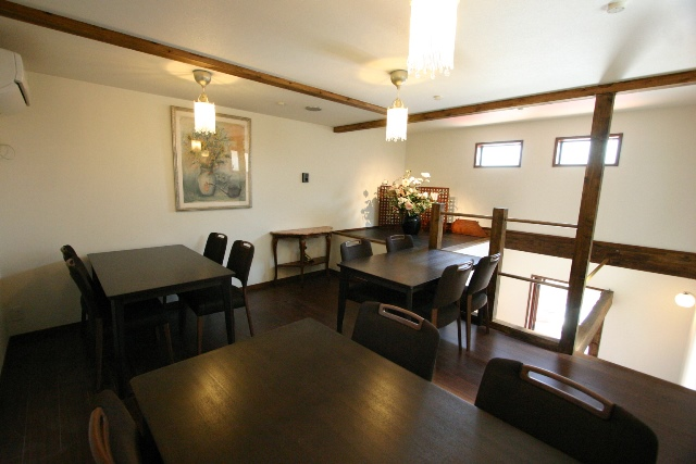 喫茶店ハーモニー 2階喫茶室