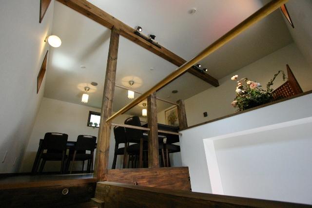 喫茶店ハーモニー 2階