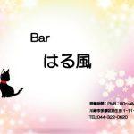 【閉店】ご近所に【 Barはる風 】さんが本日オープン致しました。