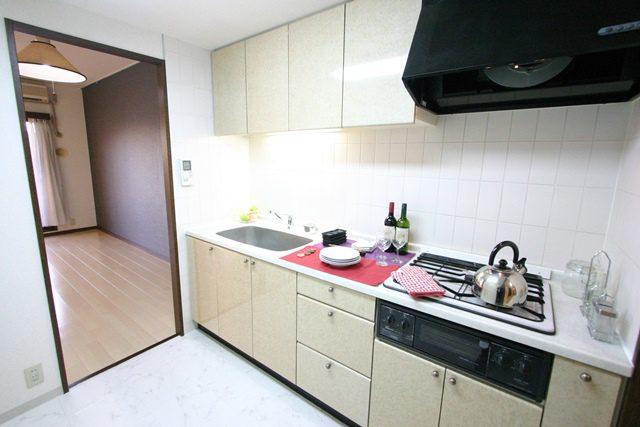 新百合王禅寺ガーデニア システムキッチン