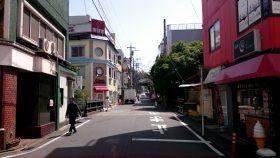 小田急線 読売ランド前駅 南口 メイン通り