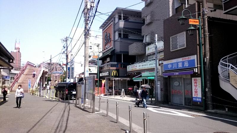 小田急線 南口