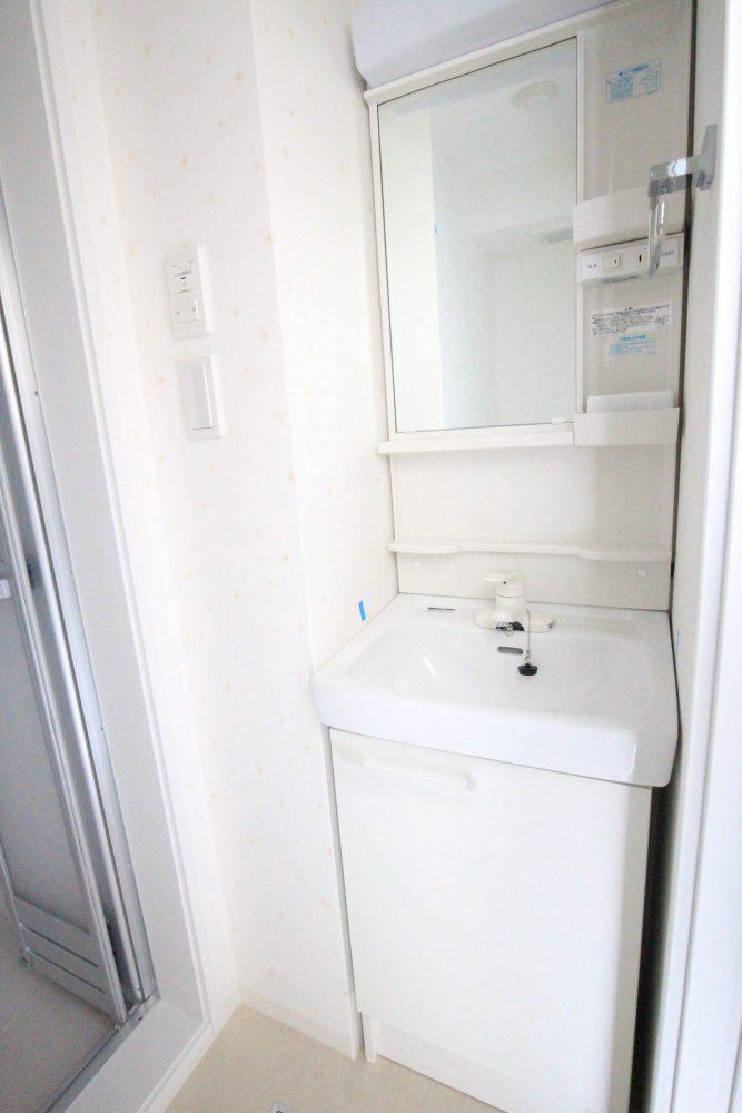 フローラ・テラス 302 洗面化粧台