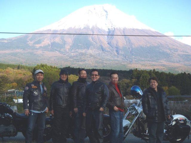 富士山ツーリング 集合写真