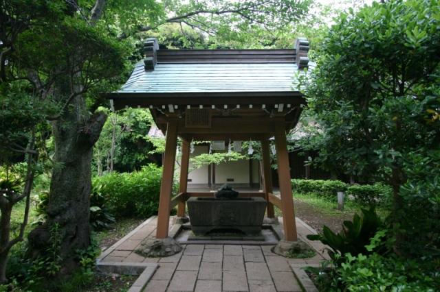 江の島 神社 清め
