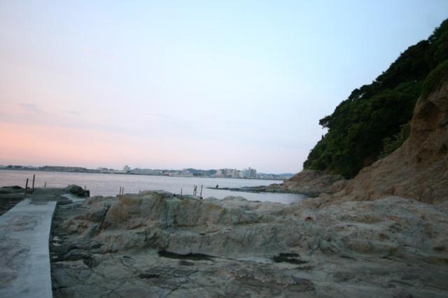 裏 江の島 神秘的