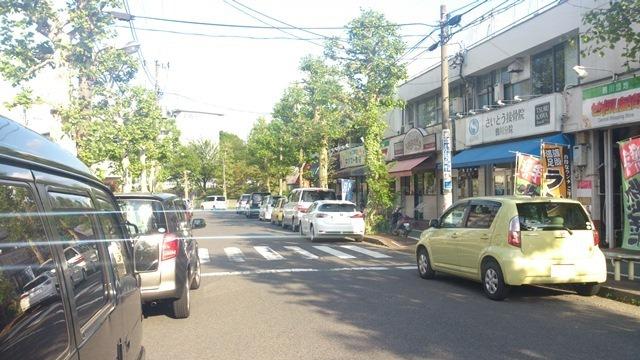 セントラル商店街 道路