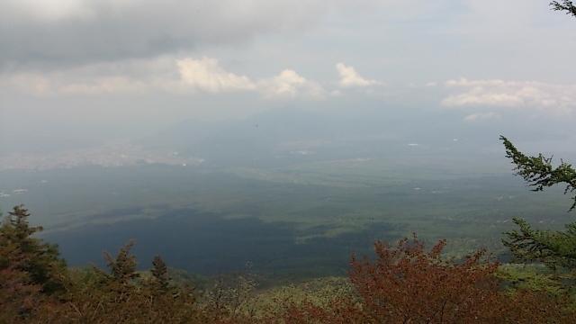 富士山五合目 眺望