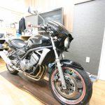 店内のバイクの修理及びレストア完成しました。
