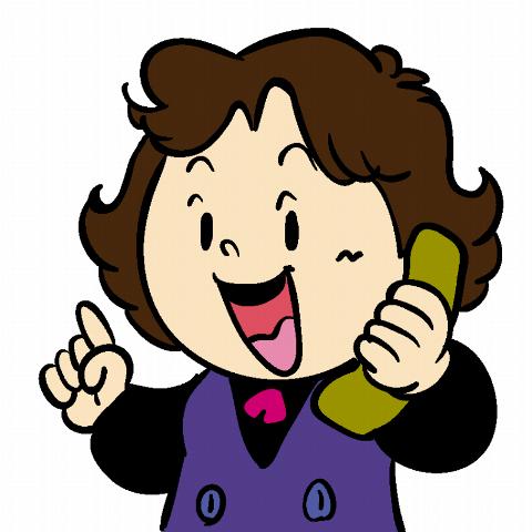 キャラ 不動産屋 電話