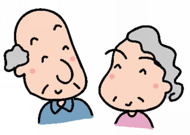 キャラ おじいちゃん、おばあちゃん