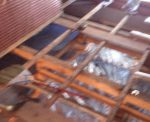 床下防湿シート 床下断熱材 網戸貼り