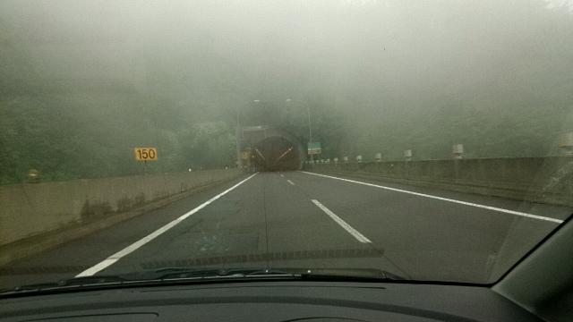高速道路 霧
