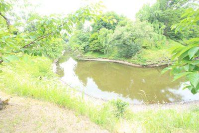 上田城跡公園 川