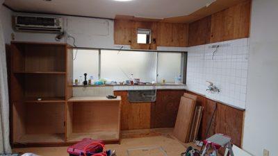 キッチン解体・撤去