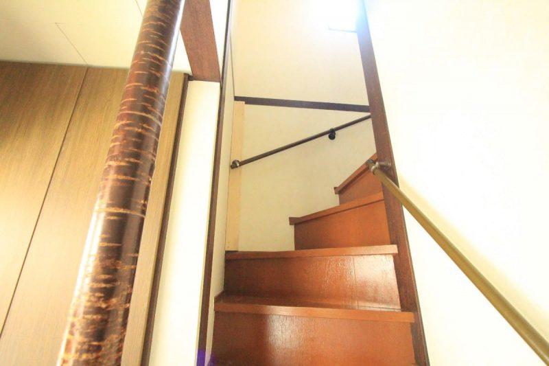 階段手すり修理
