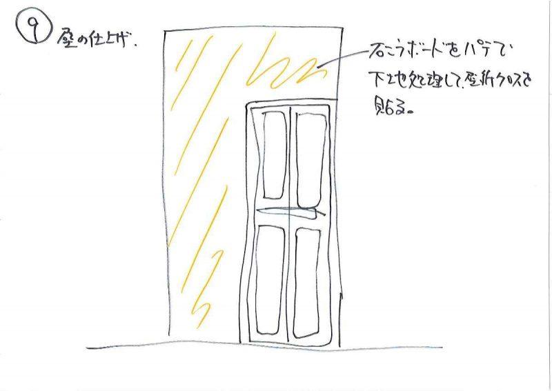 9.壁の仕上げ