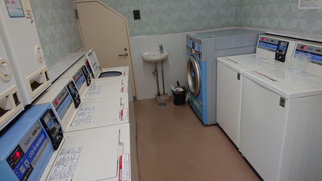 千年温泉 洗濯機