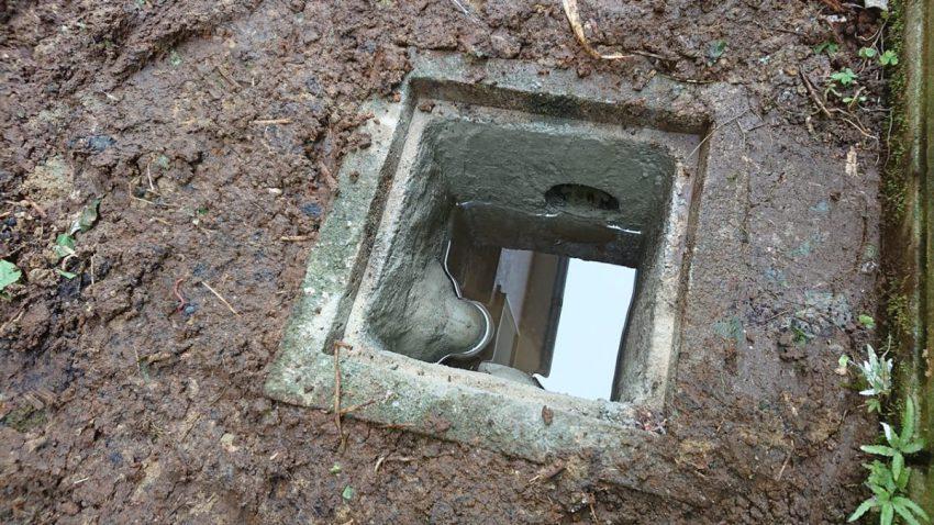 排水桝 埋め戻し (2)